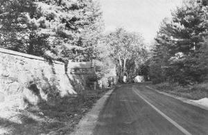 Indian Rock Road prior to the 1950's Reconstruction