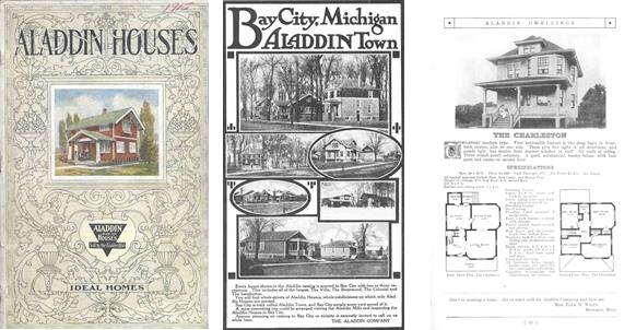 Aladdin Homes Catalog from 1914 Showing Model Selected by Albert Farmer