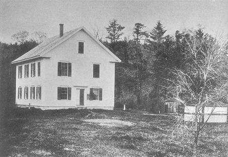 Windham Town Hall about 1880.