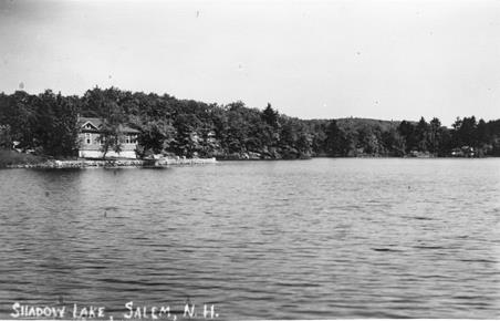 Shadow Lake sits on the border of Salem and Windham NH