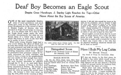 Article in Boy's Life