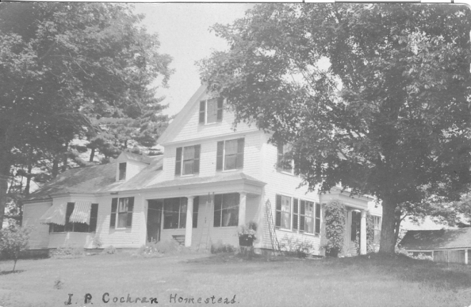 The Cochran Family Home on Lowell Road, Windham NH.