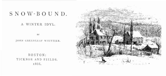 snowbound by john greenleaf whittier