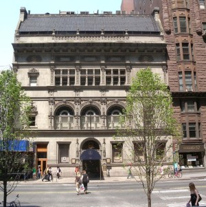 The Art Student League building in New York City. Notable Alumnae include Mark Rothko, Roy Lichtenstein, Georgia O'Keefe and Jackson Pollock.