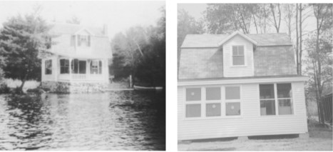 The Harry Simpson Cottage (1929) was remodeled by Willis Low.
