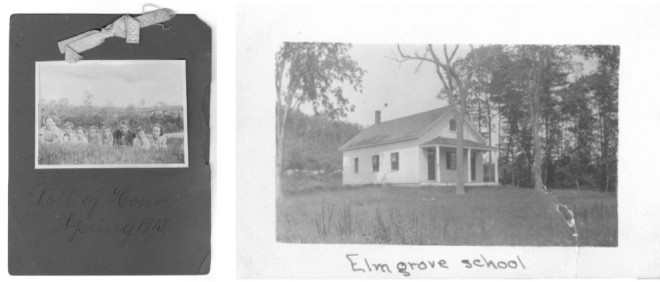School-house No. 2 about 1910