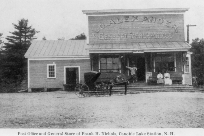 Alexander's Store and Canobie Lake post office.